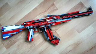 Lego AK-47 (working) (+Tutorial)