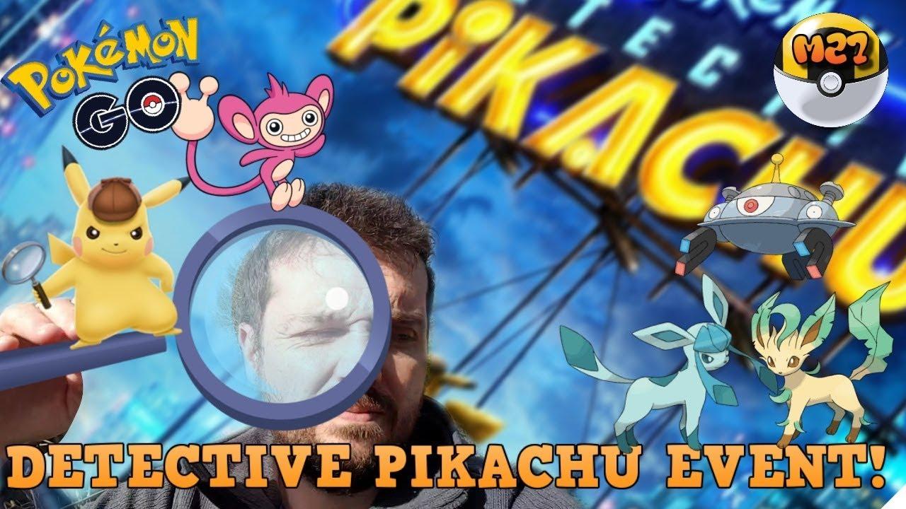 Detective Pikachu Event News Update Pokemon Go Youtube