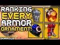 Destiny 2 - Ranking EVERY Exotic Armor Ornament!!