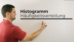 Histogramm bei einer Häufigkeitsverteilung, Klassenbreite | Mathe by Daniel Jung