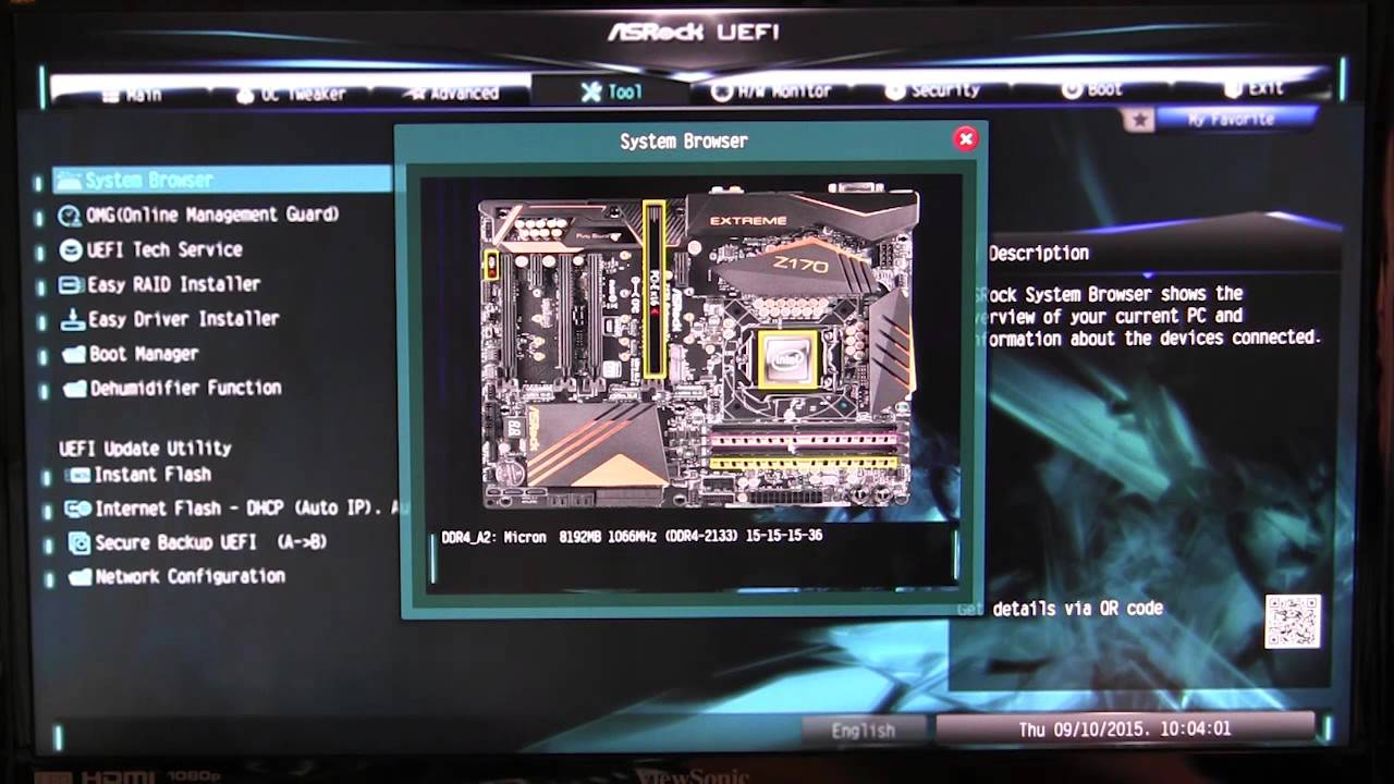 ASRock Z170 Extreme 7+ BIOS Walkthrough