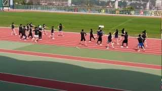 2012 PLKTNKJSC Sport Day  藍社啦啦隊