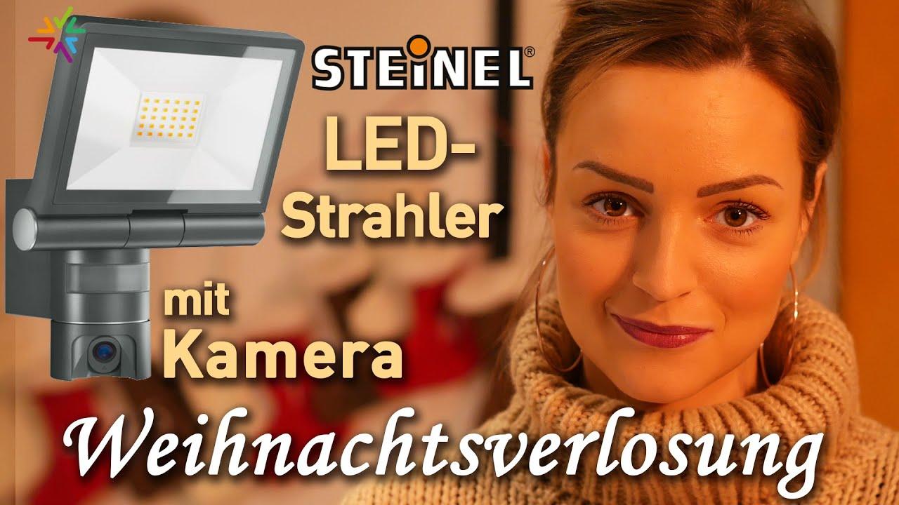 STEINEL LED-Außenleuchte mit Kamera Weihnachtsverlosung XLED CAM 1 und L 600