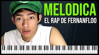 "Como tocar: ""El rap de fernanfloo"" TheFatRat - Unity [ MELODICA ][ TUTORIAL ][ NOTAS ]"