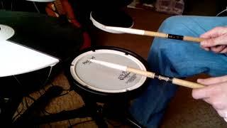 как играть соло на малом барабане обучение