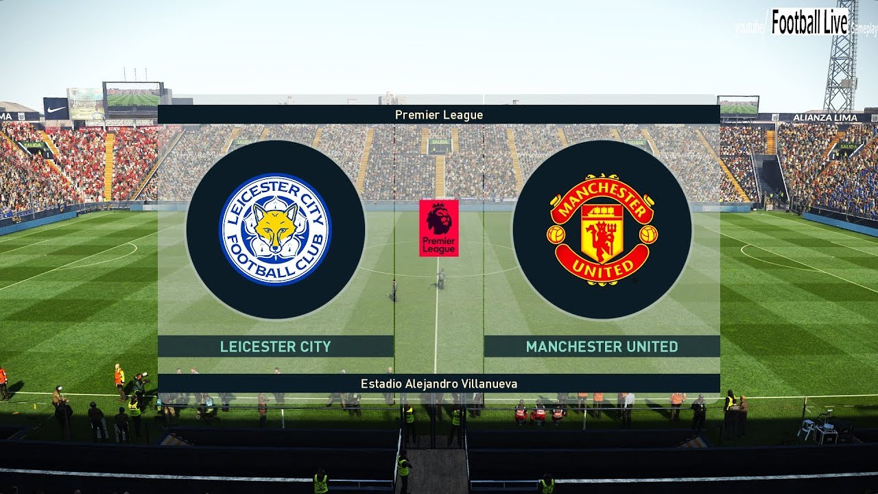 PES 2019   Leicester City vs Manchester United