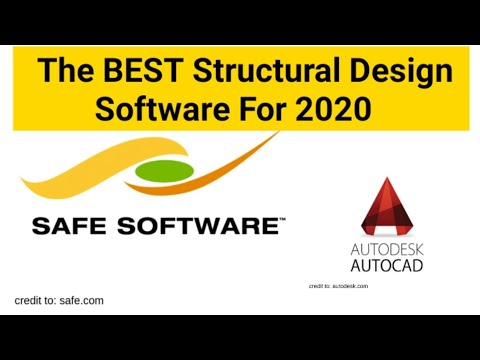 Best Structural Design Software For 2020 Youtube