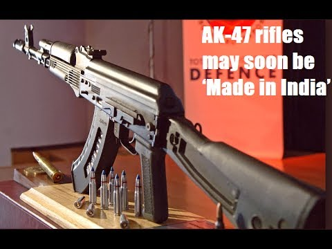 Made In India Ak 47 S Russian Maker Plans All News