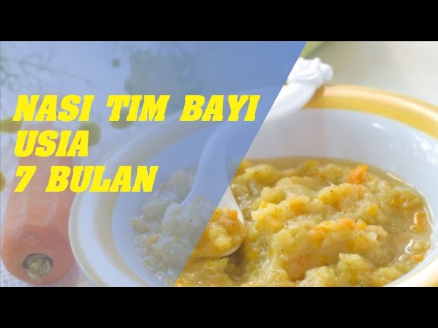 Cara Membuat Makanan Bayi 7 Bulan Youtube