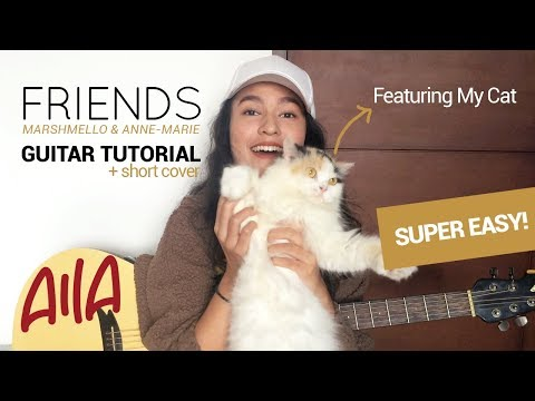 [EASY!] How to play FRIENDS - Marshmello & Anne-Marie chord in guitar