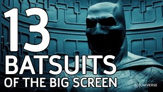 13 Batsuits of the Big Screen