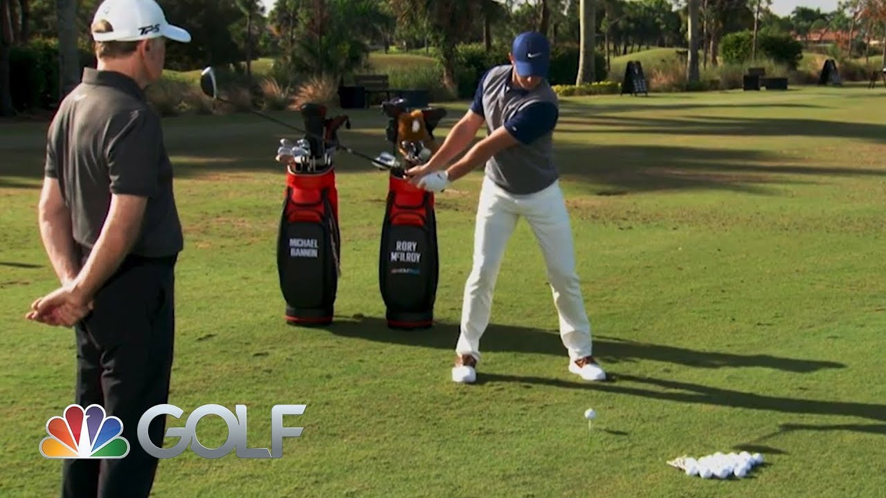 Rory Mcilroy Shares Tips To Improve Your Drive Golfpass Lessons With A Champion Golfer Youtube