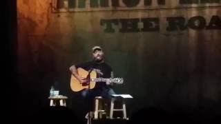 Aaron Lewis hits a drunk fan who walks on stage: Hard Rock Live Biloxi 1/31/14