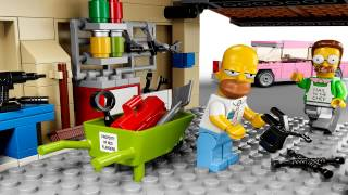 Lego The Simpsons House 71006 Animated Building Review