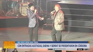 """""""No hay dos sin tres"""": Serrat y Sabina en Córdoba"""