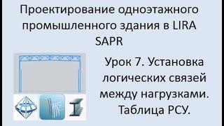 Проектирование одноэтажного промышленного здания в Lira Sapr Урок 7
