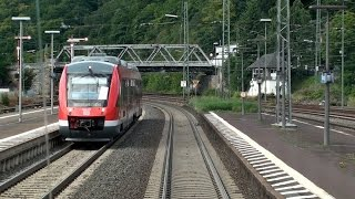 Führerstandsmitfahrt Gießen - Siegen Hbf | Dillstrecke | Train cab ride