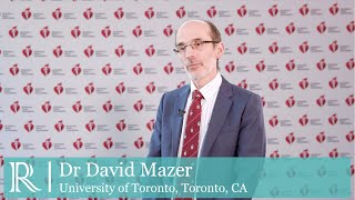 Dr david mazer (university of toronto, ca) discusses the effect empagliflozin on erythropoietin levels, iron stores and red blood cell morphology...