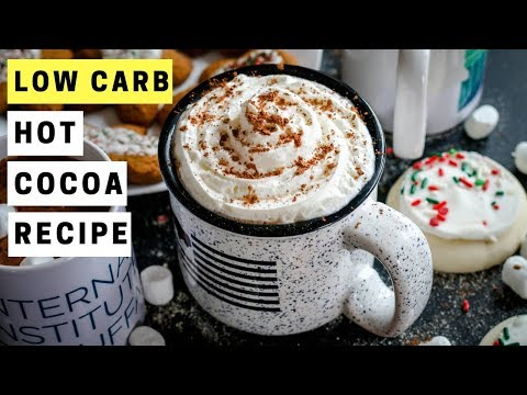 Hot Chocolate Recipe | How To Make Homemade LOW CARB Hot Cocoa For KETO
