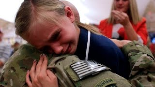 Soldiers Coming Home Surprise Compilation 2