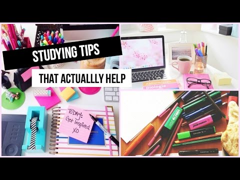 Study Tips That Actually Help