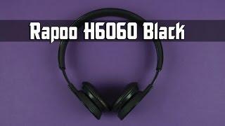 Розпакування Rapoo Bluetooth Headset H6060 Black