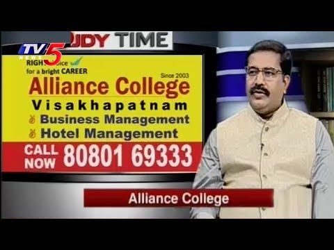 Hotel Management & Business Management Courses | Alliance College | Study Time | TV5 News