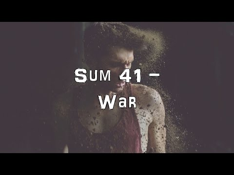Sum 41 - War [Acoustic Cover.Lyrics.Karaoke]