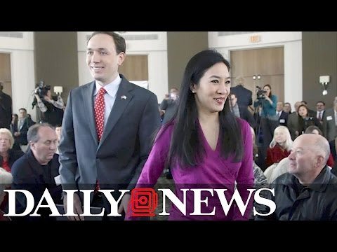Michelle Kwan learned of her divorce from the Daily News