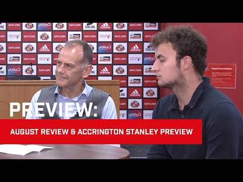 August Review Show & Accrington Stanley Preview with Jeff Brown and Phil Smith