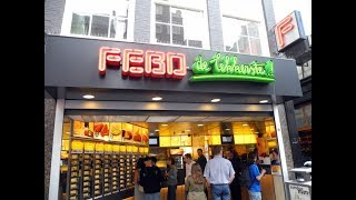 How to eat at FEBO (fast food) - Amsterdam, The Netherlands