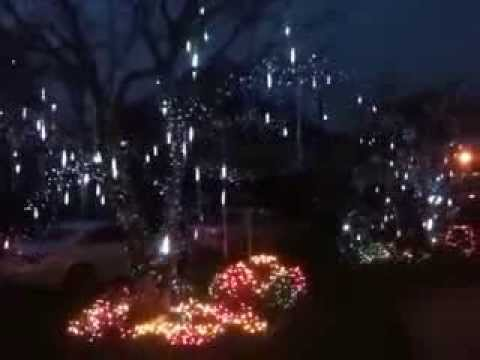 falling snow christmas lights youtube - Snowfall Christmas Lights