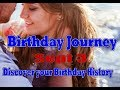 Birthday Journey September 3 New