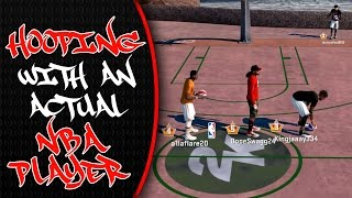 hooping with a real life nba player archie goodwin   nba 2k16 mypark gameplay