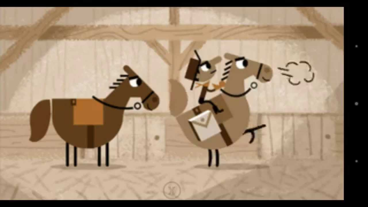 Google Search April 14 2015 Pony Express Doodle Full Game