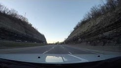 20X Time Lapse (Pennsylvania Route 136, and I-79 to McKnightmare Rd. Verizon Store) March 2017