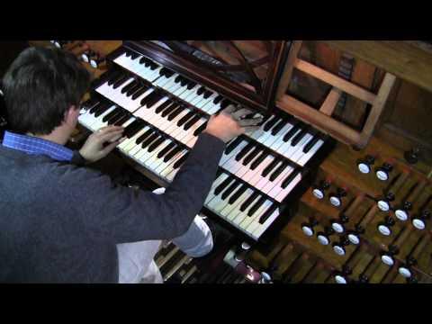 Franz Liszt, Prélude et Fugue sur B.A.C.H. - Jean-Baptiste Dupont, orgue