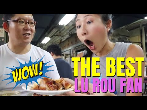 Extremely Taiwanese | Best 'LU ROU FAN' in Taipei at Beitou's market