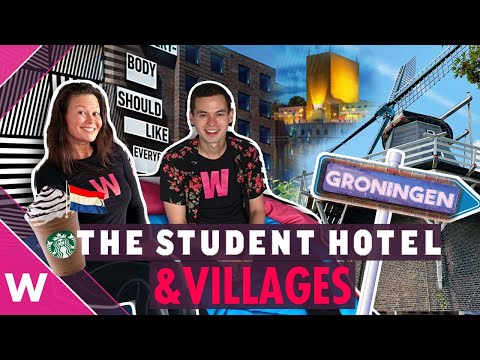 Groningen city tour: Student Hotel and nearby villages | Eurovision 2020 travel