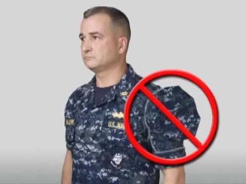 Navy Working Uniform (NWU) Instructional Video Part 1