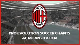 AC Milan Fangesang Cori Chants Fans Ultras