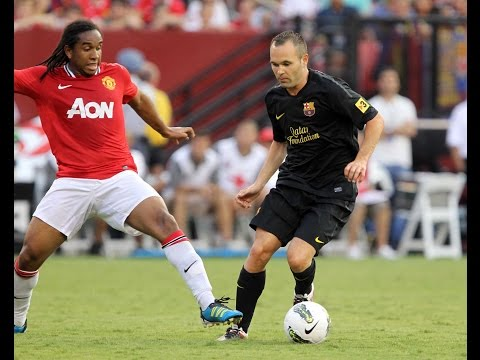 Highlights FC Barcelona vs Manchester United pre seasons 2003/2011/2012