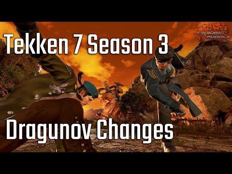Tekken 7 Season 3: Dragunov Sneak Preview!