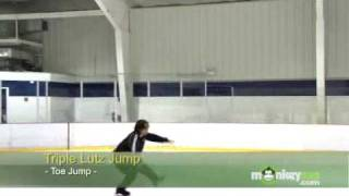Ice Skating - The Lutz Jump