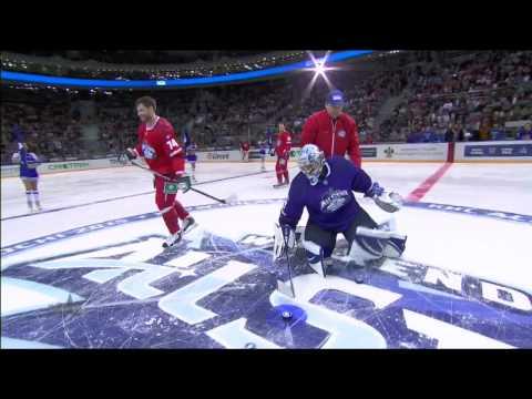 Матч Звезд 2015: Выходы три в ноль /KHL All Star Game 2015: 3-on-0 rush challenge