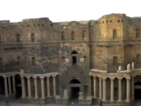 Bosra, Syria Roman theater