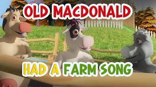 Old MacDonald Had A Farm Song - Nursery Rhymes | Kids Songs Lyrics
