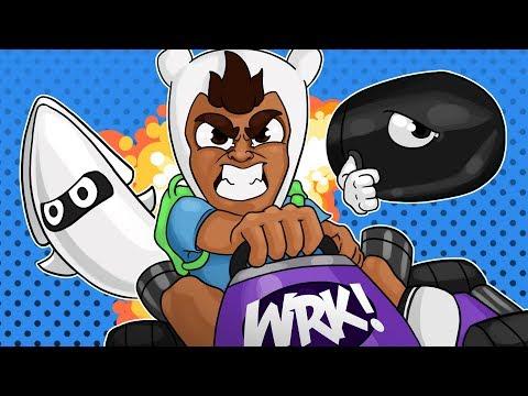 FULL SAVAGE ROAST! Mario Kart 8 Livestream w/ Daithi, Moo, 407, Terroriser, Mini & Ohm!