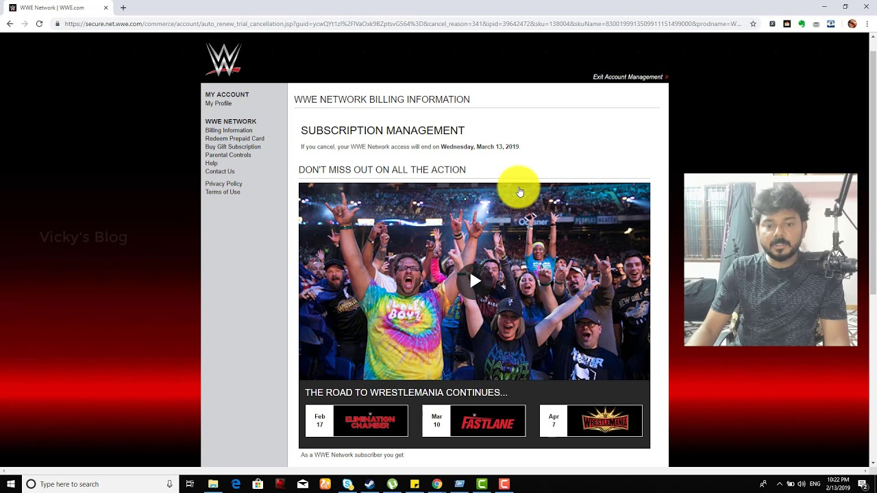 How To CANCEL WWE Network Subscription before the trial ...