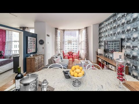 Tour A 2-bedroom Model Apartment At The Loop's Historic Fisher Building